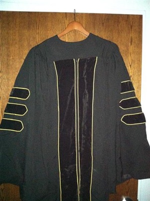 Clergy Robe with Gold Piping