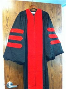 Clergy Robe with Red Velvet